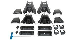 Roof Bars For Kia Sportage 2012 by Heavy Duty 2500 Black 2 Bar Roof Rack Bit For Kia Rondo 4dr Wagon