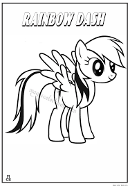 my little pony coloring pages archives magic color book