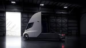 luxury semi trucks this is the tesla semi truck the verge