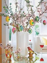 Quick Easter Table Decorations by Easter Egg Trees Centerpiece U2013 Happy Easter 2017