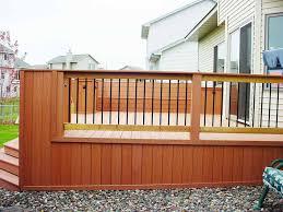 Ideas For Deck Handrail Designs Outdoor Deck Design Patio Deck Railing Designs The Metal Deck
