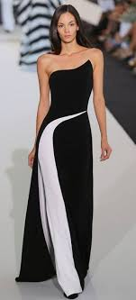 black and white dresses best 25 black and white gowns ideas on