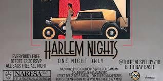 harlem night one night only tickets fri dec 8 2017 at 10 00