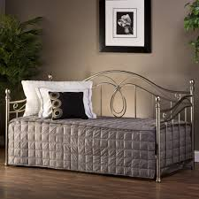 milano metal daybed in antique pewter humble abode