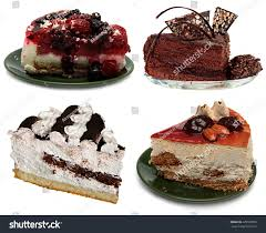 4 types cake chocolate fruit ice stock photo 225102055 shutterstock