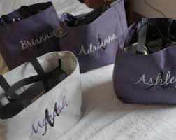 personalized bags for bridesmaids embroidered tote bags for any occasion by embellishedbrideshop