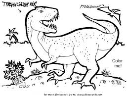 rex coloring pages getcoloringpages