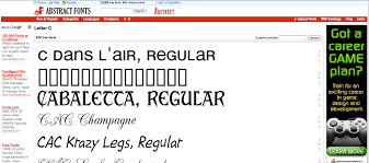 10 places to get free fonts