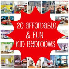 Affordable Kid Bedroom Ideas - Affordable bedroom designs