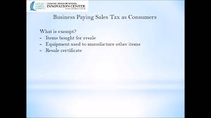 podcast 4 instruction on texas sales and use tax youtube