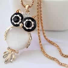 necklace owl images Diamondowl crystal owl necklace owlfanworld jpg