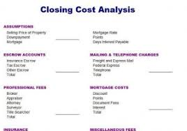 sample cost analysis report business cost analysis template