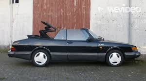 saab 900 convertible saab 900 classic cabriolet www voorwaerts nl youtube