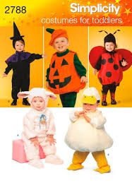 amazon com simplicity sewing pattern 2788 toddler costumes a 1