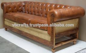 Vintage Leather Sofas Vintage Leather Sofa Wooden Leg Buy Wooden Sofa Legs Latest