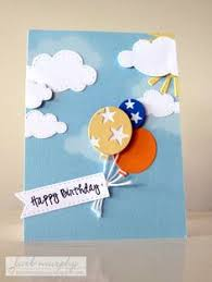 handmade birthday card bring on the happy balloons big and bright