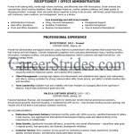 Receptionist Resume Examples by Receptionist Resume Sample Administration Office Support Writing