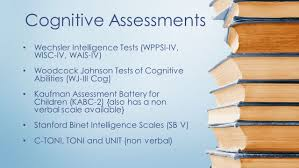 assessment understanding the psycho educational evaluation