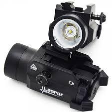 springfield xd tactical light usa laspur weapon rail mount cree led high lumen tactical flashlight
