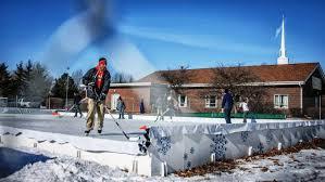 Homemade Backyard Ice Rink by Backyard Ice Rink Plans