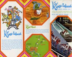 Kings Island Map Booksteve U0027s Library Hanna Barbera Land