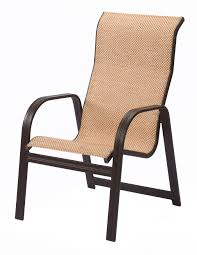 Chair For Patio High Back Sling Patio Chair Icamblog