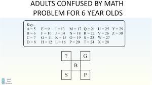 math homework for 6 year olds stumping adults youtube