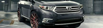 2013 toyota highlander accessories parts at carid com