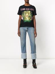 Tiger Blinds Gucci Blind For Love Tiger Print T Shirt 1 000 Buy Aw17 Online