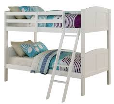 Angel Line Creston Twin Over Twin Bunk Bed  Reviews Wayfair - Twin over twin bunk beds