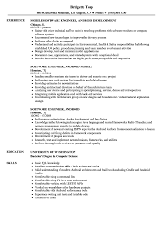 resume format exles documentation of android software engineer android resume sles velvet jobs