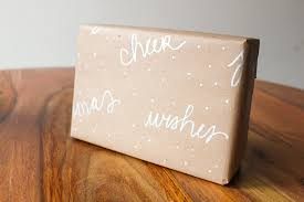 brown gift wrapping paper gift wrap ideas using brown craft paper simply gifted