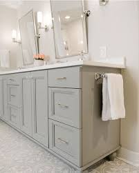 Classic Bathroom Furniture Silver Framed Mirrors And Floral Carpet For Amazing