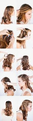 Schnelle Frisuren F Lange Haare Offen by 17 Best Ideas About Einfache Frisuren Lange Haare On