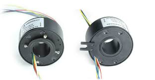 senring manufacturer slip ring connector 18 circuits wires of