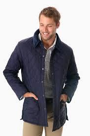 barbourmen s black powell quilted jacket tuckernuck