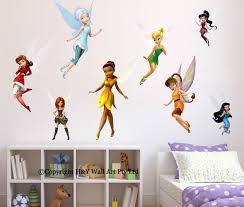kumpulan fairy woodland mural in nursery page 16 www full set of 8 pcs disney fairies wall stickers kids wallpaper gallery fairy woodland mural