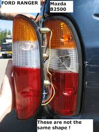 mazda b2500 rear light for mazda b2500 tail lamp taillamp pickup truck rh o s