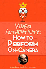 David Cook Light On Video Authenticity How To Perform On Camera Social Media Examiner