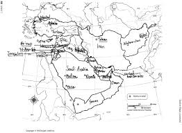 n africa map quiz africa southwest asia blank map image gallery for central