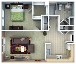 1 Bedroom Apartment Floor Plans by Home Design 87 Enchanting 1 Bedroom Apartment Floor Planss