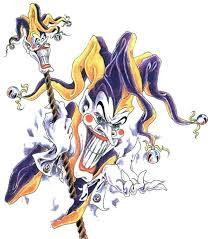 evil joker clown tattoo flash tattoos book 65 000 tattoos designs