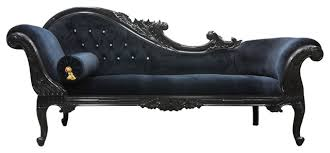 queen anne u0027s revenge chaise black traditional indoor chaise