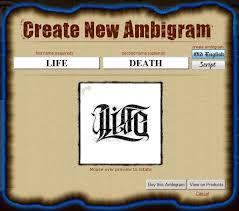 name font generator free backstorysports ambigram designer dess design