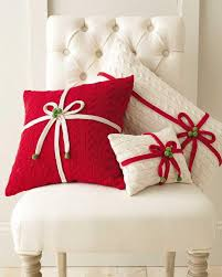 expect the unexpected in this season s holiday decor pillows have become a popular go to for holiday decorating as seasonal themes can add a festive touch to the decor these hand knit cotton pillows have