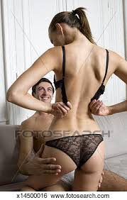 stock images of man watching woman undress x14500016 search