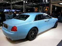 roll royce ghost blue rolls royce ghost alpine trial centenary collection is out