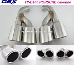 Porsche Cayenne 955 Exhaust - porsche cayenne exhaust tips porsche cayenne exhaust tips