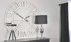 decorative clock 15 best collection of giant wall clock