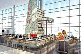 Iah Terminal Map Five Exciting New Restaurants Are On The Way To George Bush